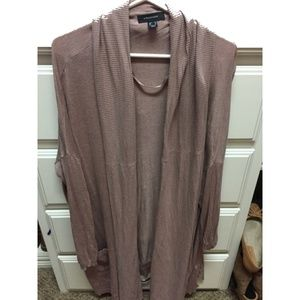 Primark - Rose/Mauve Open Cardigan - Size 14